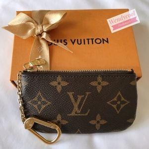 Authentic Louis Vuitton Monogram Key Pouch Special